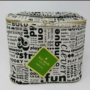 Kate Spade Lunch Tote What Do You Say Model 1